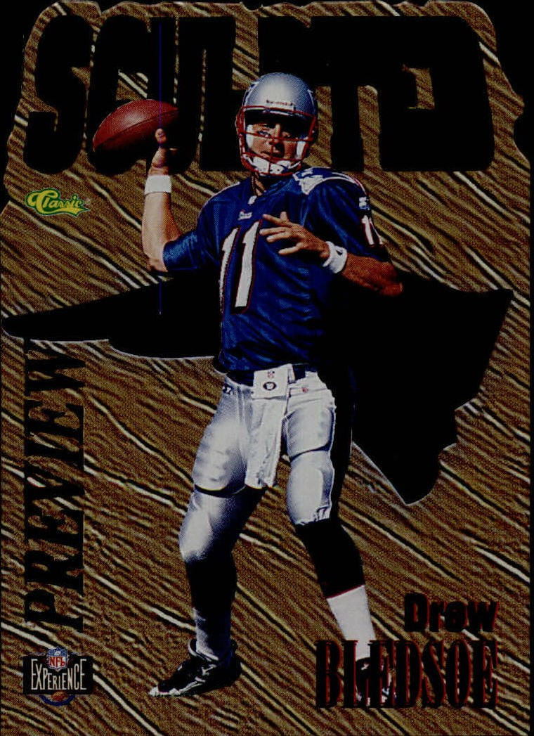 1995 Images Limited Sculpted Previews #NX2 Drew Bledsoe
