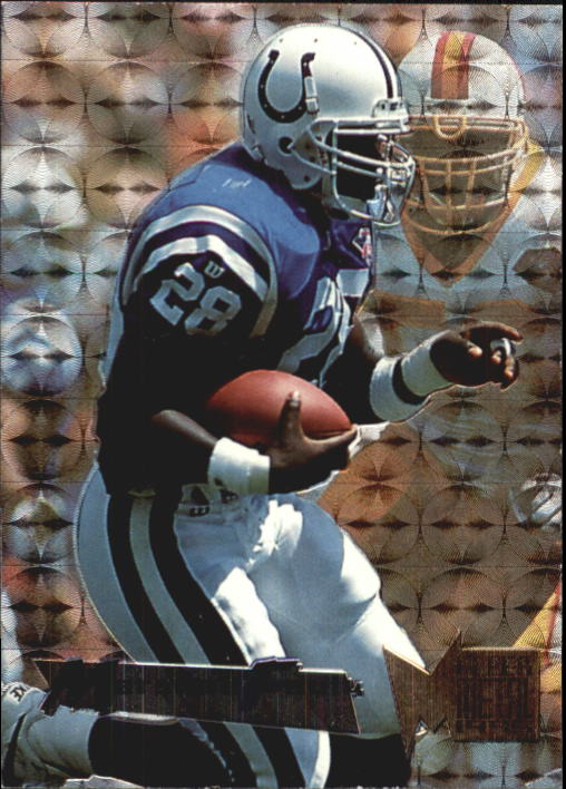 1995 Metal #84 Marshall Faulk