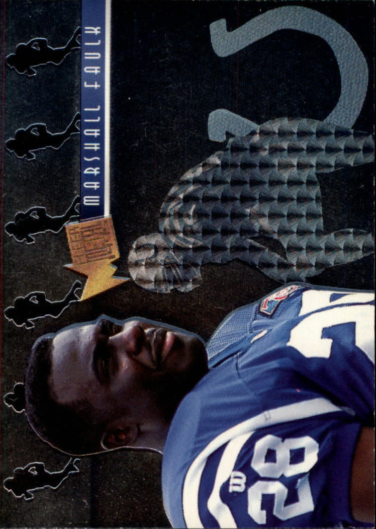 1995 Metal Platinum Portraits #3 Marshall Faulk