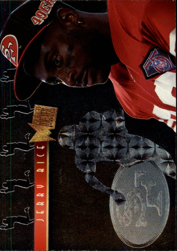 1995 Metal Platinum Portraits #6 Jerry Rice