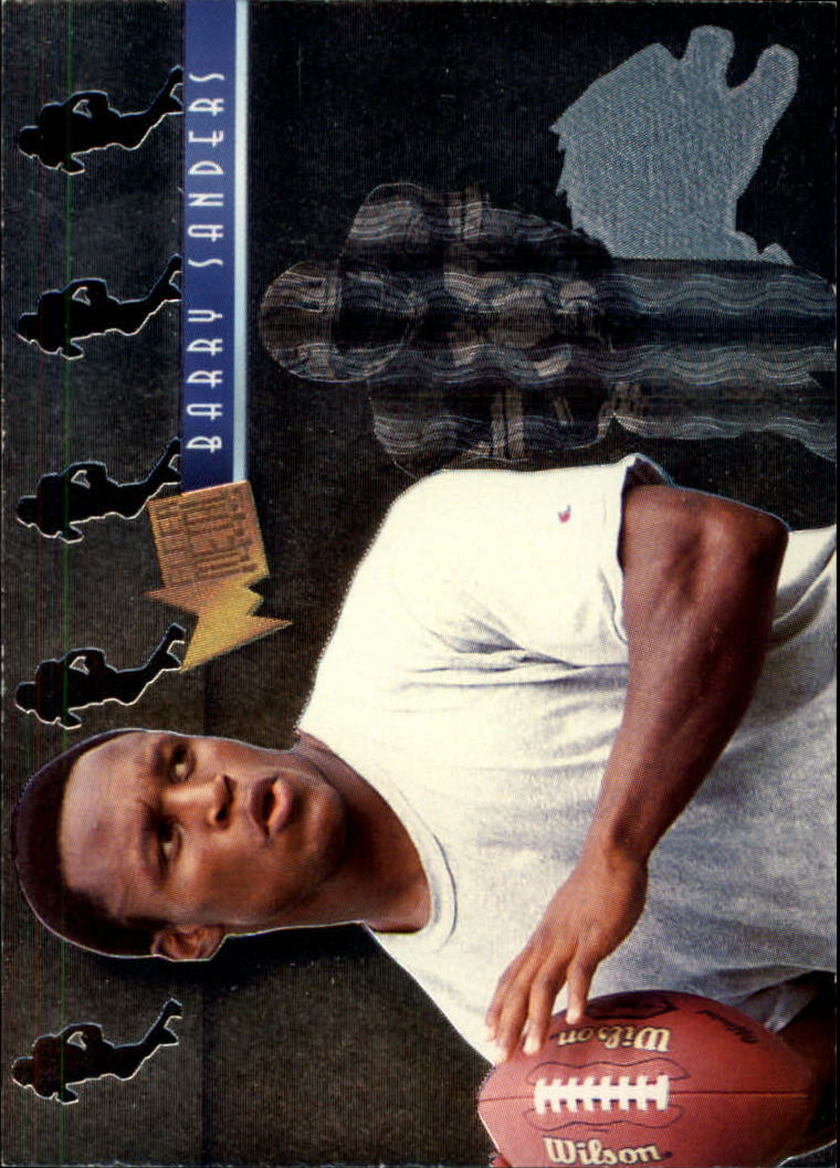 1995 Metal Platinum Portraits #8 Barry Sanders