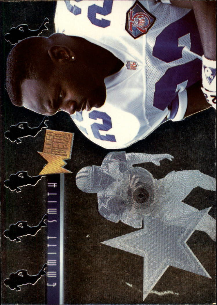 1995 Metal Platinum Portraits #10 Emmitt Smith