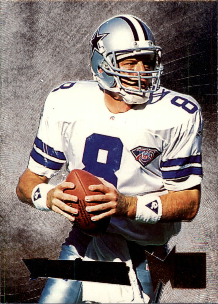 1995 Metal Silver Flashers #1 Troy Aikman