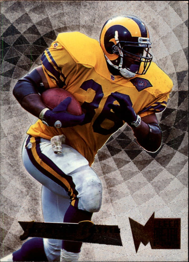 1995 Metal Silver Flashers #3 Jerome Bettis