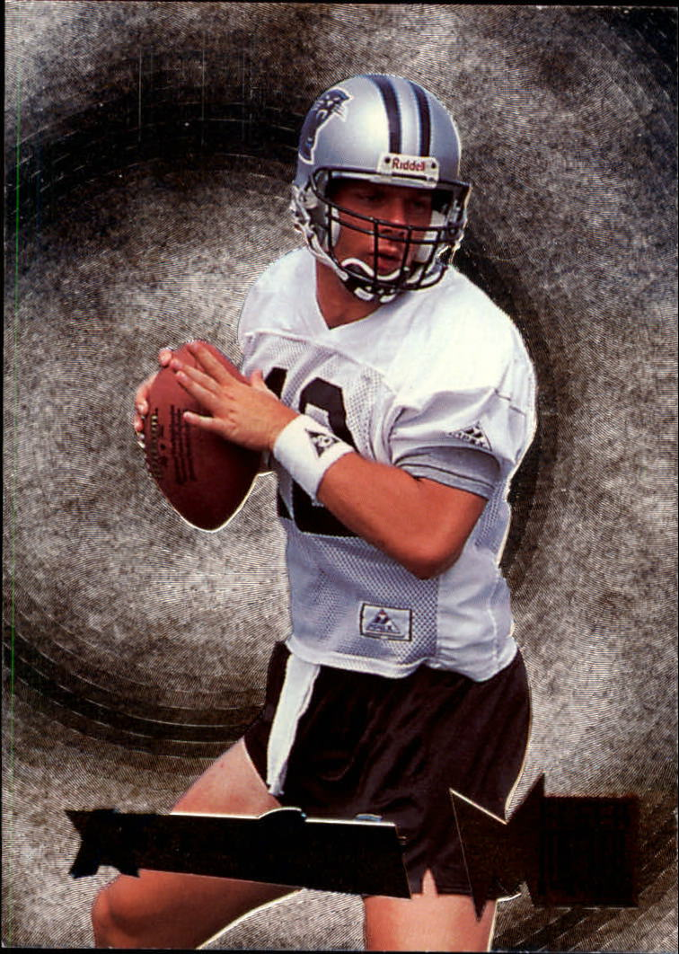 1995 Metal Silver Flashers #9 Kerry Collins