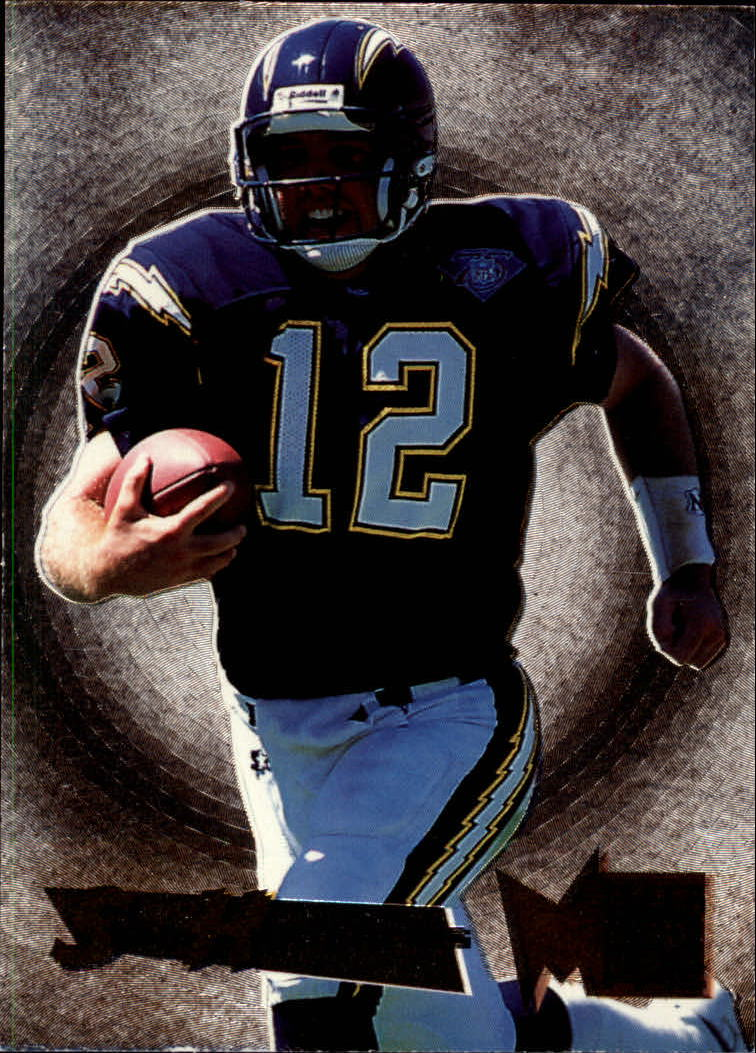 1995 Metal Silver Flashers #21 Stan Humphries