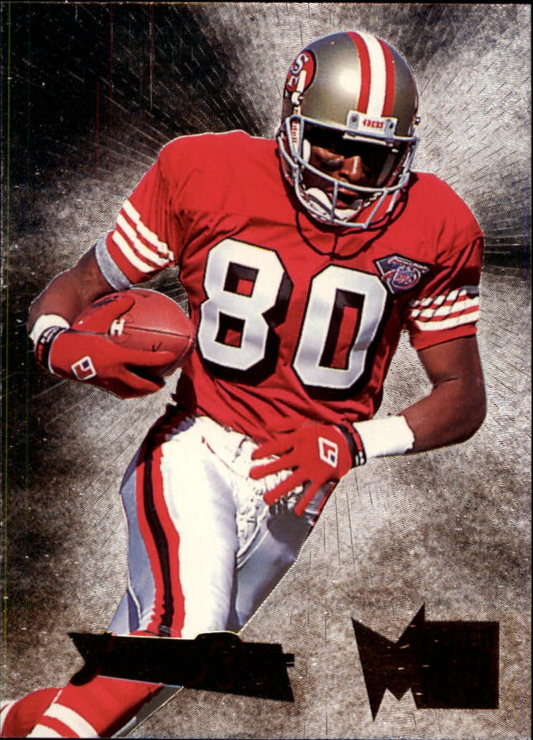 1995 Metal Silver Flashers #34 Jerry Rice