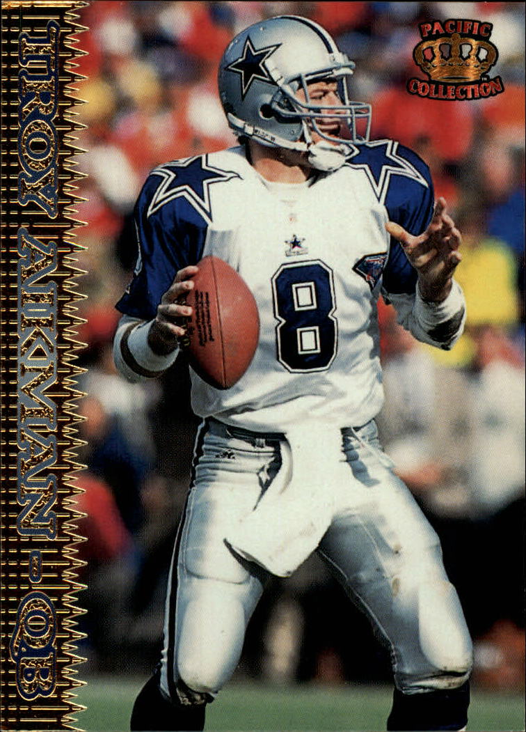 1995 Pacific #37 Troy Aikman