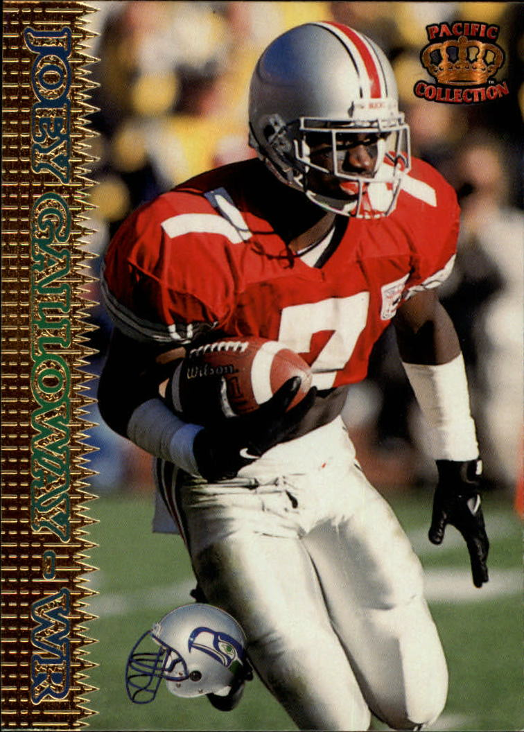 1995 Pacific #372 Joey Galloway RC