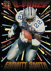 1995 Pacific G-Force #GF3 Emmitt Smith