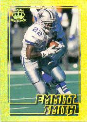 1995 Pacific Gems of the Crown #GC6 Emmitt Smith