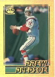 1995 Pacific Gems of the Crown #GC19 Drew Bledsoe