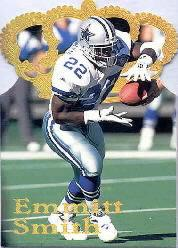 1995 Pacific Gold Crown Die Cuts #DC3 Emmitt Smith