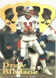 1995 Pacific Gold Crown Die Cuts #DC10 Drew Bledsoe