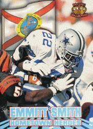 1995 Pacific Hometown Heroes #HH1 Emmitt Smith