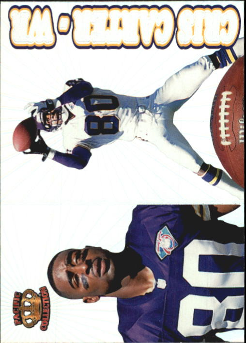 1995 Pacific Prisms #52 Cris Carter