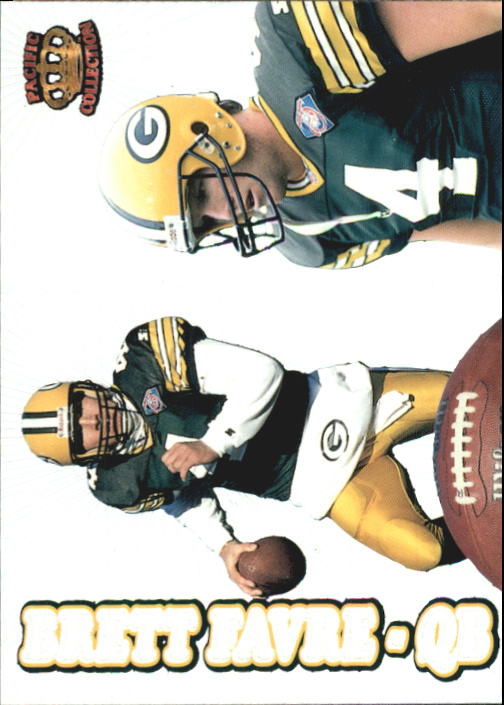 1995 Pacific Prisms #142 Brett Favre