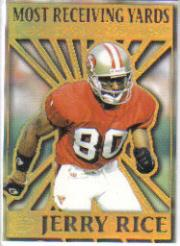 1995 Pacific Prisms Kings of the NFL #3 Jerry Rice