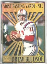 1995 Pacific Prisms Kings of the NFL #7 Drew Bledsoe