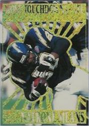 1995 Pacific Prisms Kings of the NFL #10 Marshall Faulk/Means