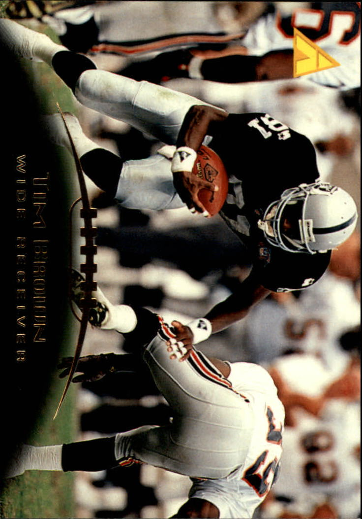 1995 Pinnacle #24 Tim Brown