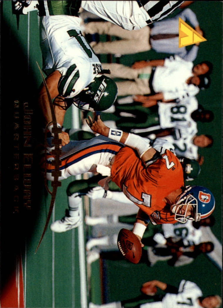 1995 Pinnacle #32 John Elway