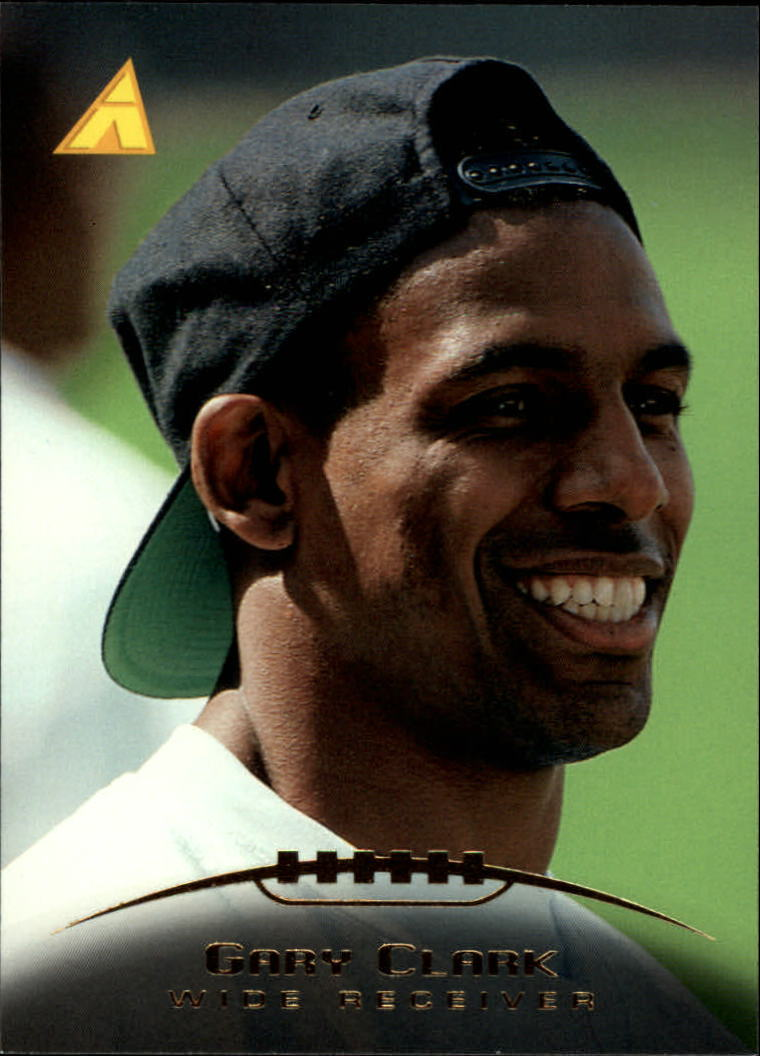 1995 Pinnacle #60 Gary Clark front image