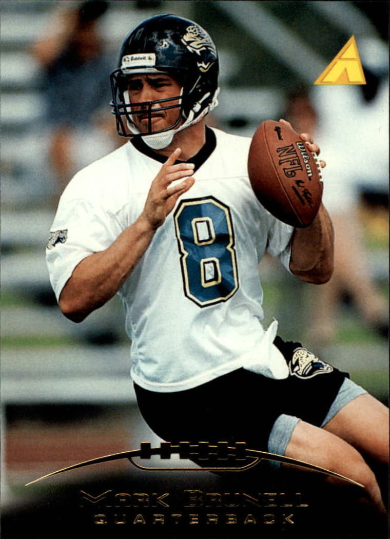 1995 Pinnacle #182 Mark Brunell