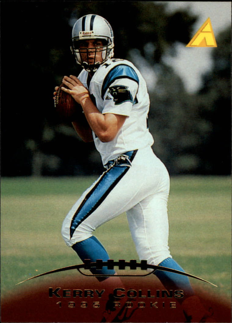 1995 Pinnacle #212 Kerry Collins RC