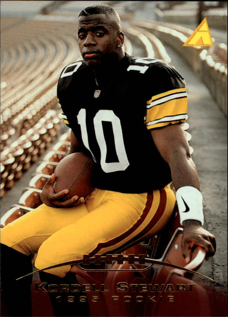 1995 Pinnacle #231 Kordell Stewart RC