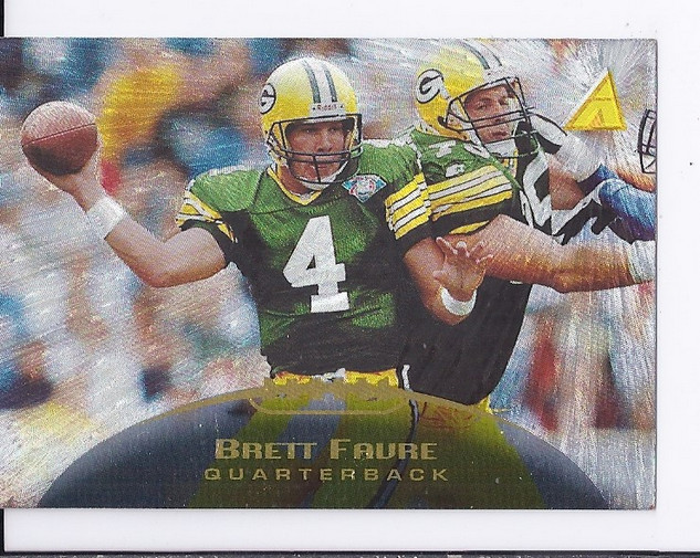1995 Pinnacle Trophy Collection #26 Brett Favre