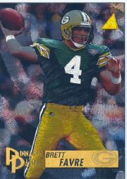 1995 Pinnacle Trophy Collection #199 Brett Favre PP