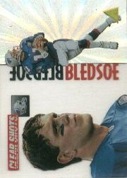 1995 Pinnacle Clear Shots #4 Drew Bledsoe