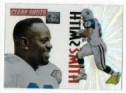 1995 Pinnacle Clear Shots #5 Emmitt Smith