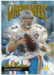 1995 Pinnacle Gamebreakers #9 Dan Marino
