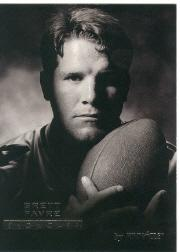 1995 Pinnacle Showcase #10 Brett Favre