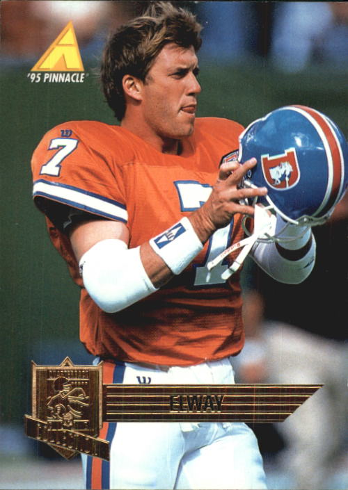 1995 Pinnacle Club Collection #65 John Elway