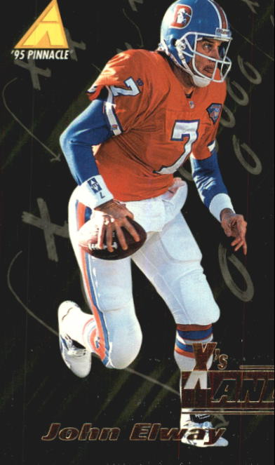 1995 Pinnacle Club Collection #70 John Elway