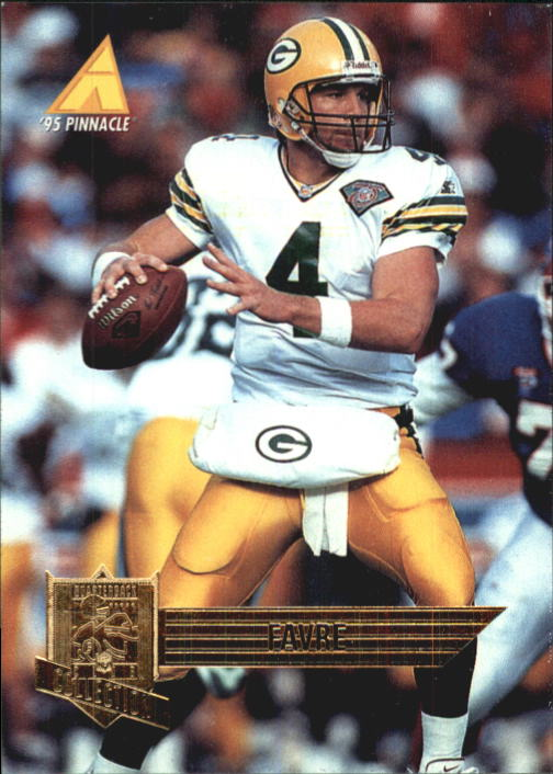 1995 Pinnacle Club Collection #91 Brett Favre