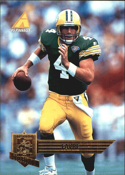 1995 Pinnacle Club Collection #92 Brett Favre