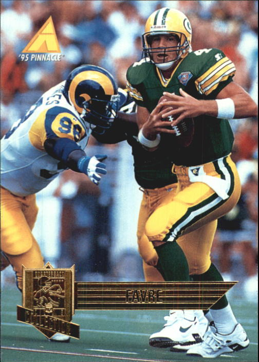 1995 Pinnacle Club Collection #93 Brett Favre