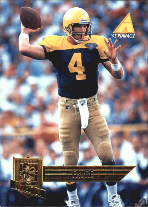 1995 Pinnacle Club Collection #94 Brett Favre