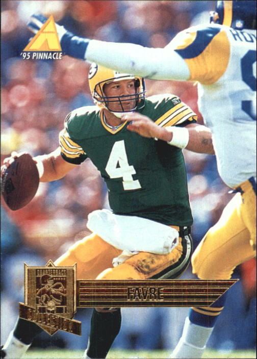 1995 Pinnacle Club Collection #95 Brett Favre