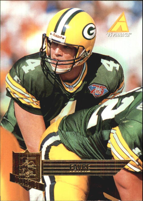 1995 Pinnacle Club Collection #96 Brett Favre