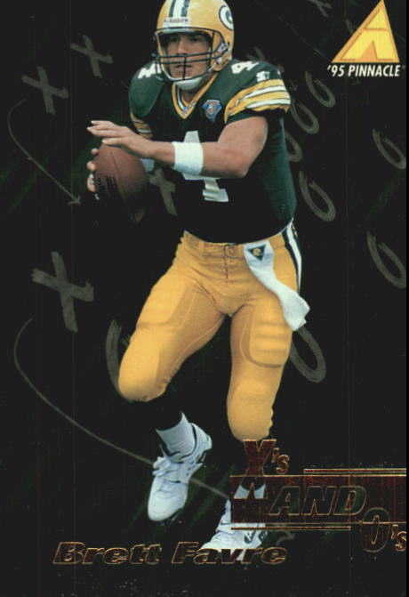 1995 Pinnacle Club Collection #97 Brett Favre