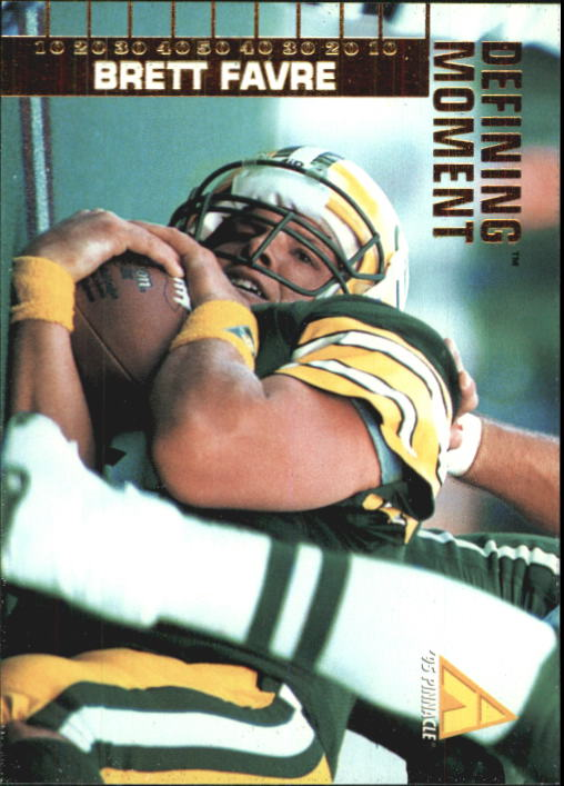 1995 Pinnacle Club Collection #99 Brett Favre