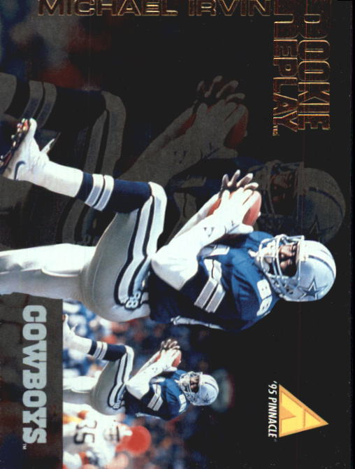 1995 Pinnacle Club Collection #125 Michael Irvin