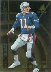1995 Pinnacle Club Collection Arms Race #11 Drew Bledsoe