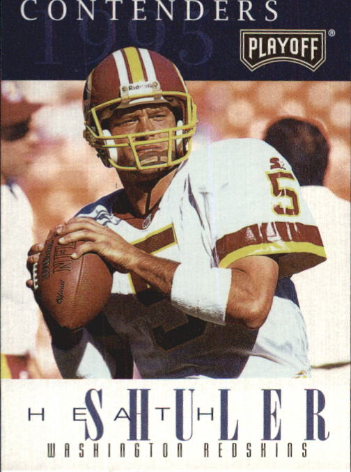 1995 Playoff Contenders #5 Heath Shuler