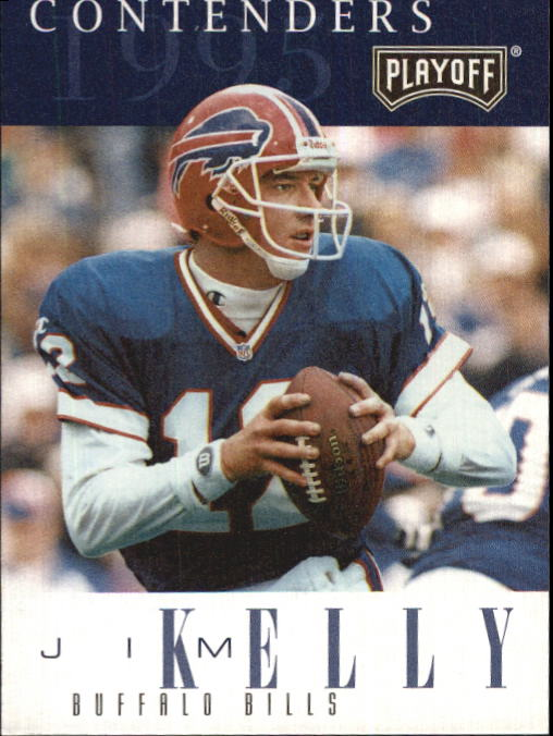1995 Playoff Contenders #12 Jim Kelly